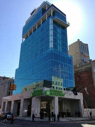 Wyndham Garden Chinatown Hotel en NYC - edificio