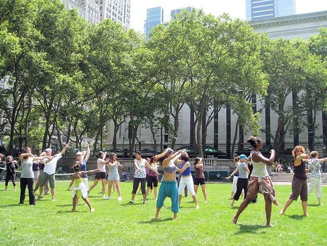Clases de baile gratuitas en Nueva York