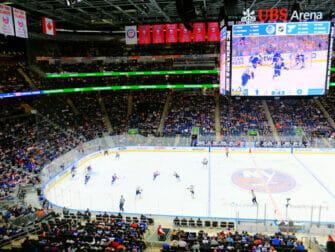 Tickets para los New York Islanders - bandera estadounidense