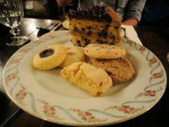 Alices Tea Cup en Nueva York - galletas