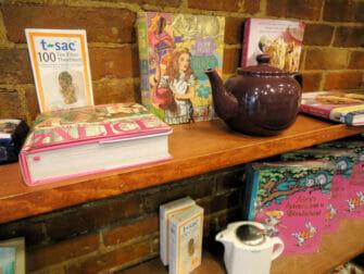 Alices Tea Cup en Nueva York - tetera
