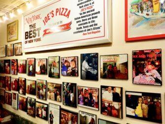 La mejor pizza de Nueva York - Joe's en Nueva York