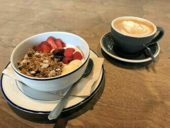 Desayunar en Nueva York - sano