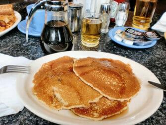 Desayunar en Nueva York - tortitas