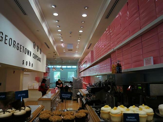 Los mejores cupcakes en Nueva York - Georgetown Cupcakes