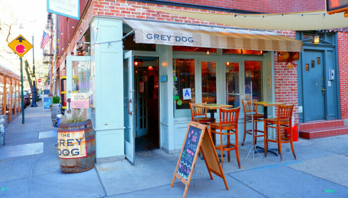 Los mejores bagels de Nueva York - Grey Dog