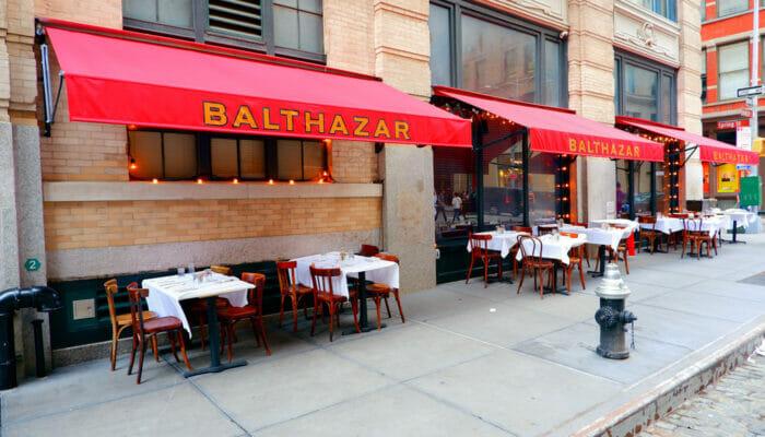 Almuerzo en Nueva York - Balthazar 1