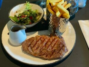 Steak en Nueva York