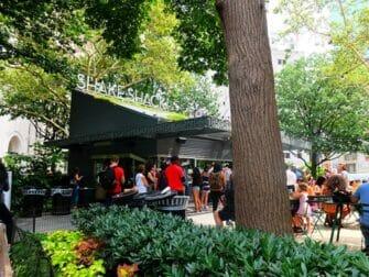 Parques en Nueva York - Shake Shack en Madison Square Park