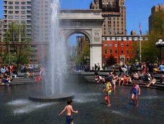 Parques en Nueva York - Washington Square Park