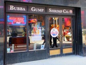 Restaurantes tematicos en Nueva York - Bubba Gump