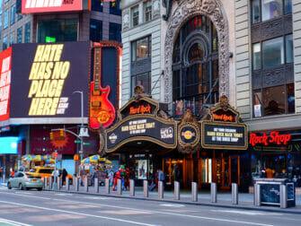 Restaurantes tematicos en Nueva York - Hard Rock Cafe