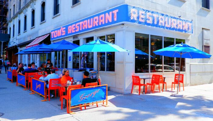 Desayunar en Nueva York - Tom's Restaurant