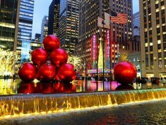 Navidad en NYC - decoraciones