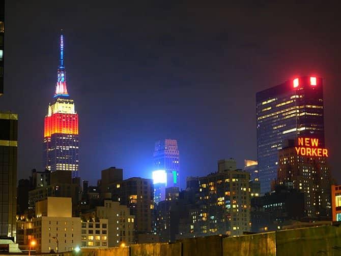 4 de Julio en Nueva York - Empire State Building