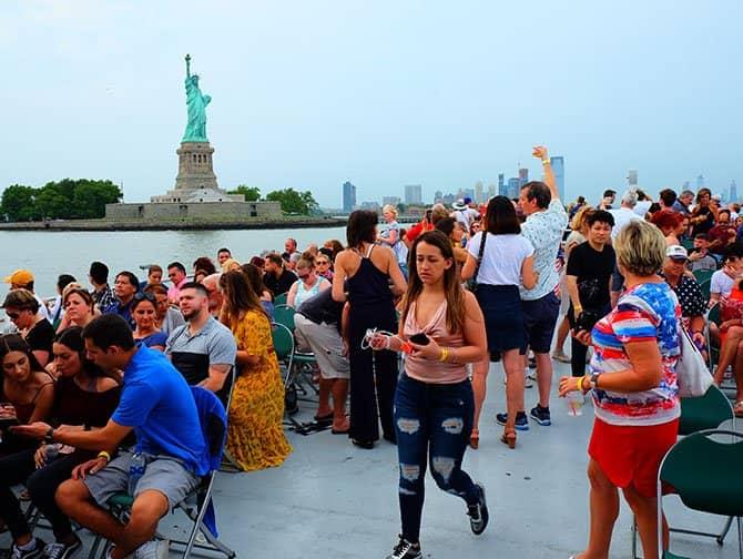 4 de Julio en Nueva York - Crucero con fuegos artificiales