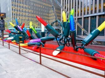 El dia de Navidad en Nueva York - Decoracion