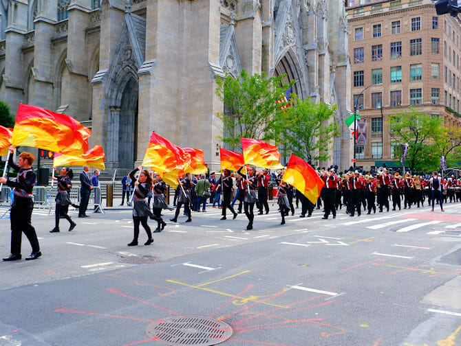 Columbus Day en Nueva York - Desfile