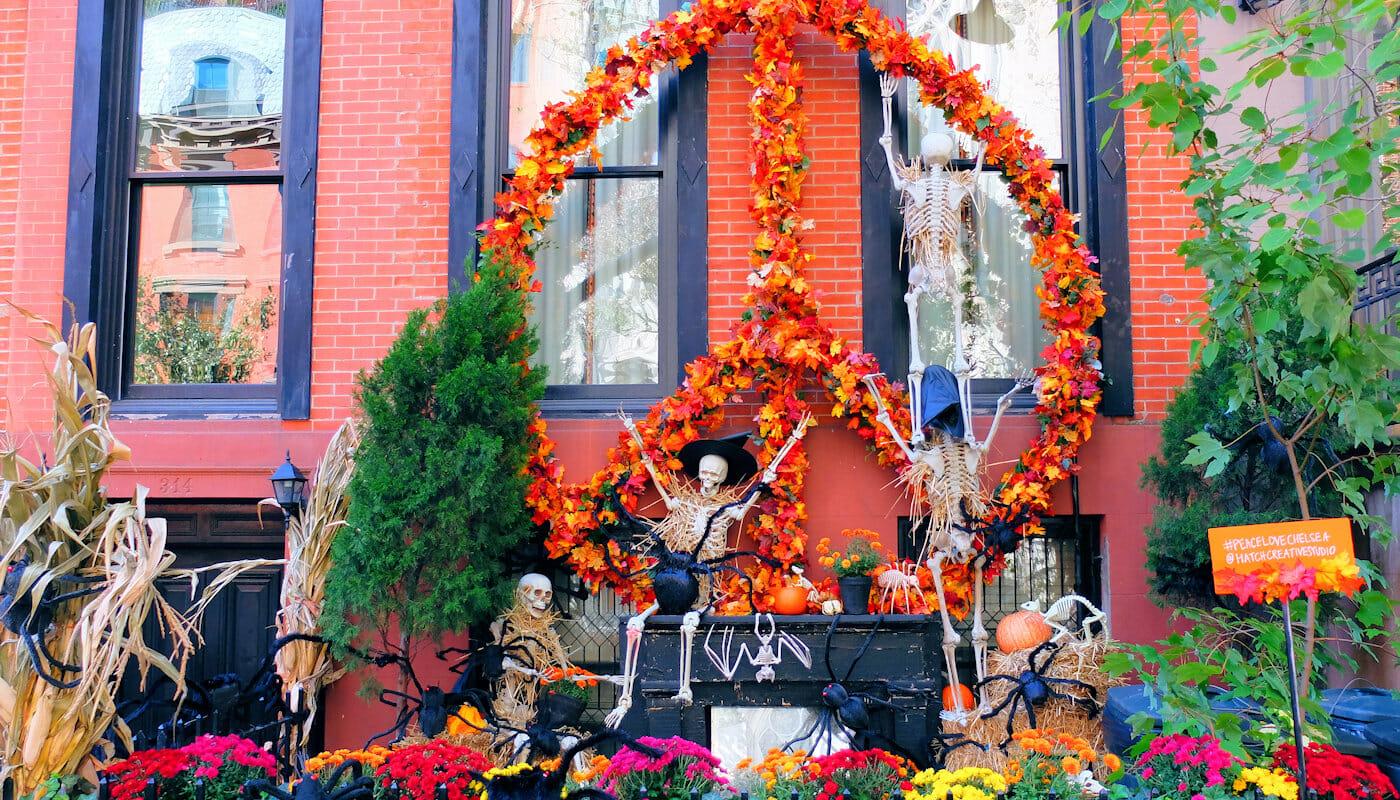 Halloween en Nueva York - Casas decoradas