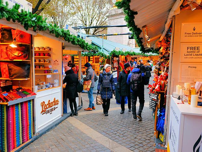 Mercados en Nueva York - Bryant Park Christmas Market