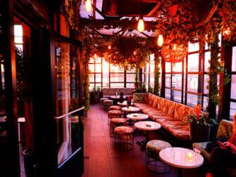 Rooftop Bars en Nueva York - Gansevoort Hotel