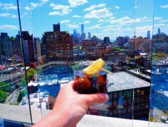 Rooftop Bars en Nueva York - Vista desde el Gansevoort Hotel
