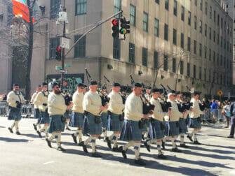 St Patricks Day en NYC - trajes verdes