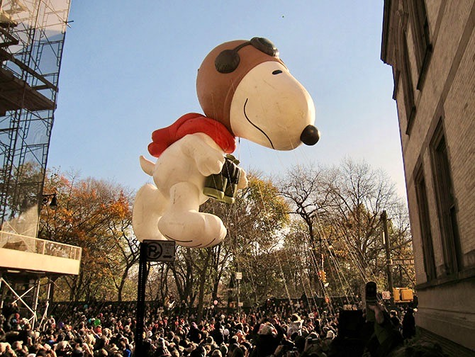 Thanksgiving en Nueva York - Globo de Snoopy