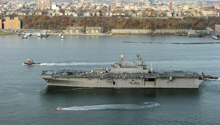 Fleet Week en NYC - barco