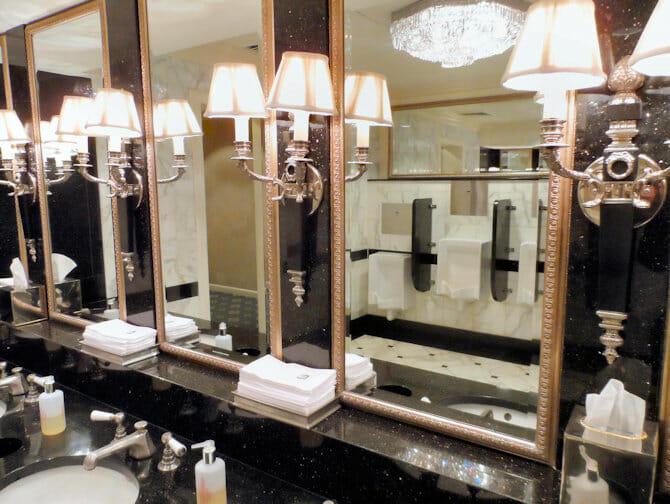 Waldorf Astoria en NYC - baños