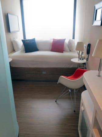 citizenM Hotel en NYC - cama