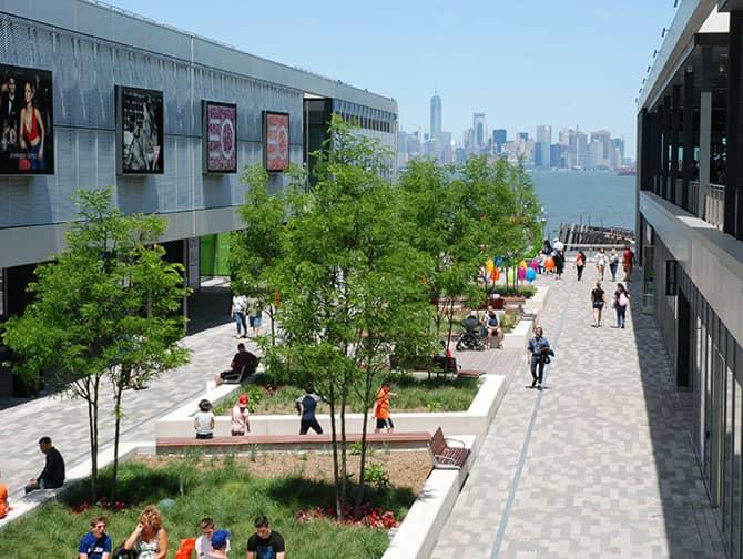 Empire Outlets New York City en Nueva York - Vistas del Skyline