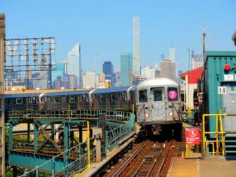 Long Island City en NYC - metro
