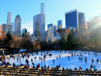 Central Park - Patinar en Wollman Rink