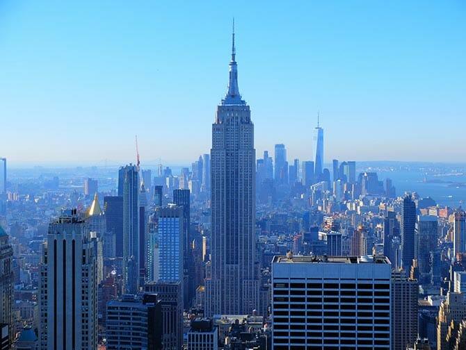 Año Nuevo en Nueva York - Vista desde Top of the Rock