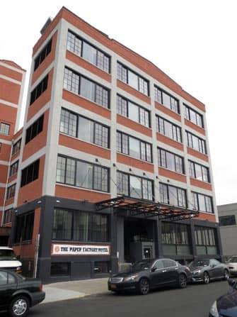 The Paper Factory Hotel en NYC - edificio