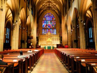 Lower Manhattan en NYC -Trinity Church