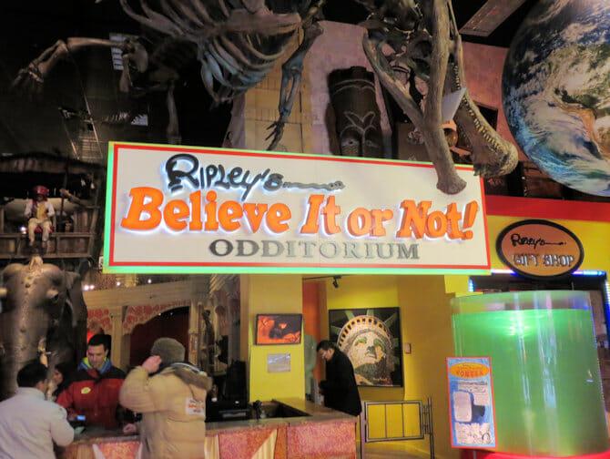 Ripley's Believe It or Not en Nueva York