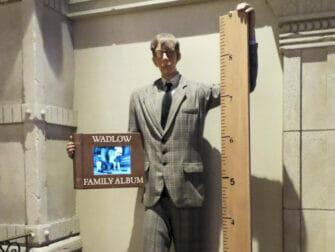 Ripley's Believe It or Not en Nueva York - el hombre más alto