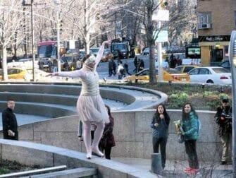 The Ride en Nueva York - bailarín