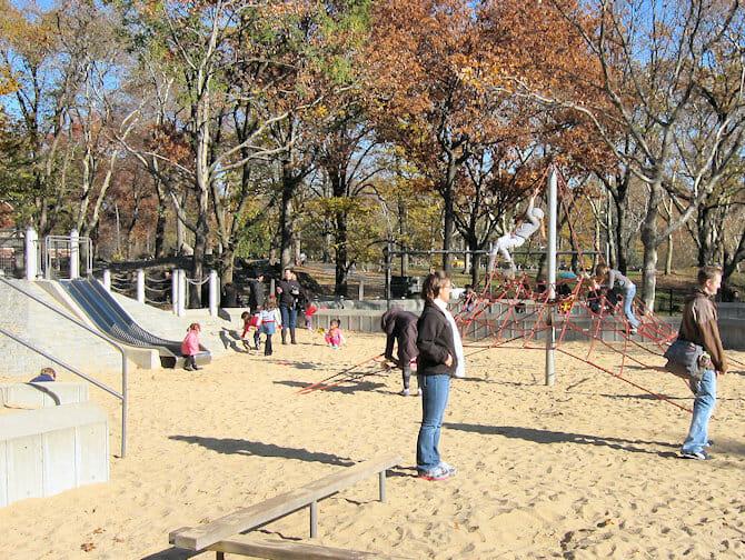 Parques en NYC - arenal en Central Park