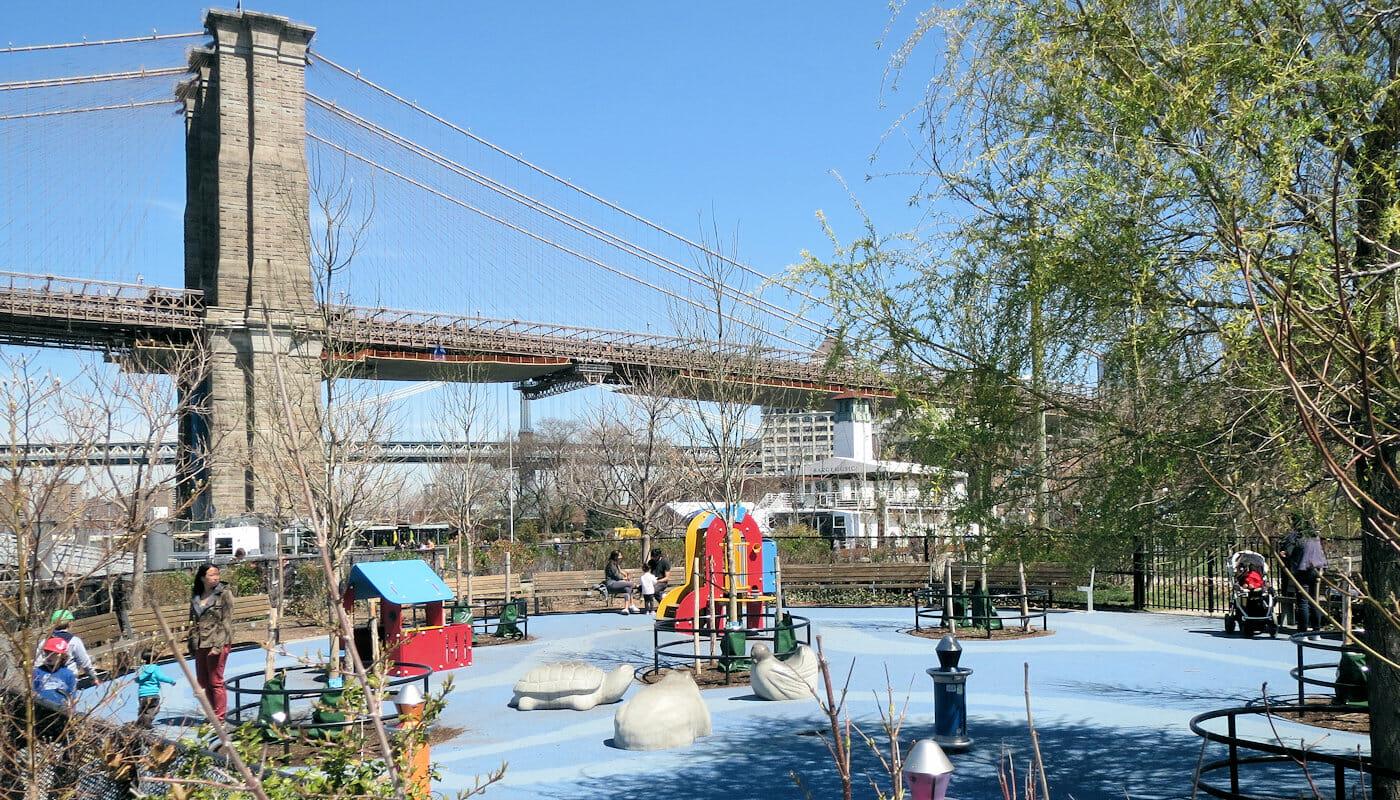 Parques en NYC - Pier 1