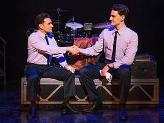 Tickets para Jersey Boys en Nueva York - Apretón de manos
