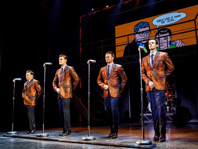 Tickets para Jersey Boys en Nueva York - Actuación