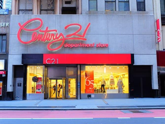Outlets en Nueva York - Century 21