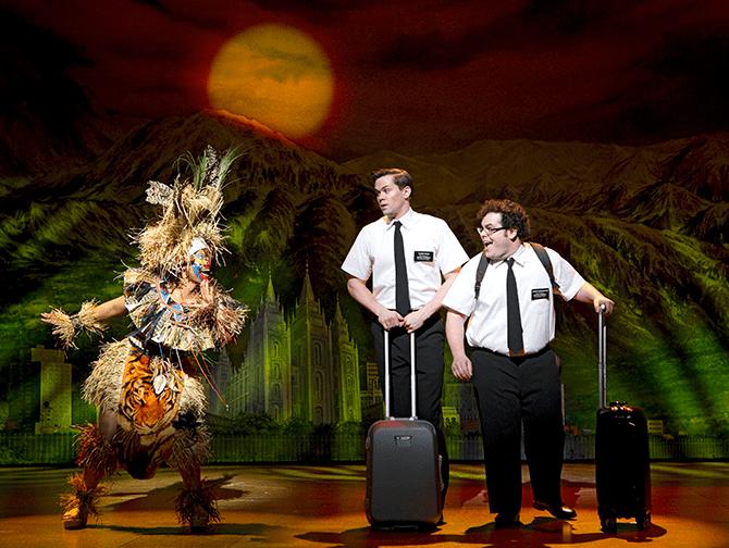 Tickets para The Book of Mormon en Broadway - Arnold y Kevin