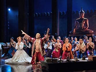 The King and I en Broadway - Reparto