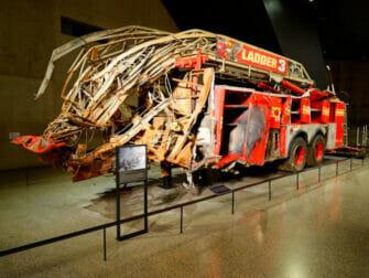 Museo del 11 S en Nueva York Camion de bomberos