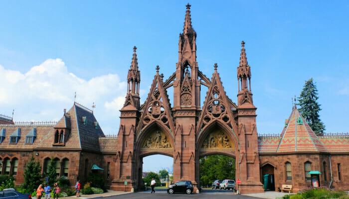 Tour por Brooklyn - Entrada a Green-Wood Cemetery