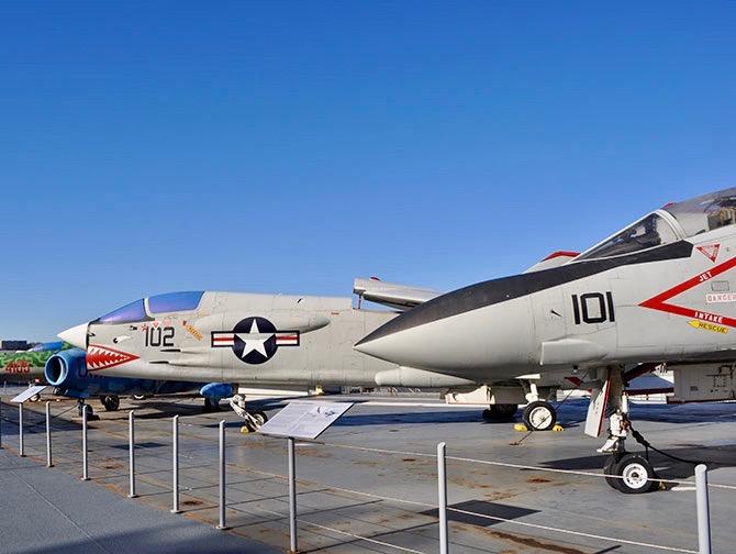 Intrepid Sea, Air and Space Museum en Nueva York - Aviones de combate